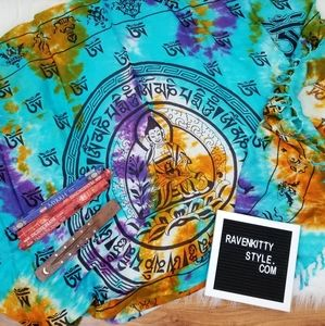 New Buddha Tie Dye Tapestry Altar Incense Set